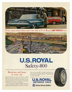 U.S. Royal Safety-800 Tires (1961)