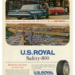 Fri, 2020-10-23 11:46 - U.S. Royal Safety-800 Tires (1961)