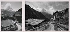 Zeitsprung III: Links Juli 1938, rechts Juli 2020 · Jump in time: left July 1938, right July 2020  (