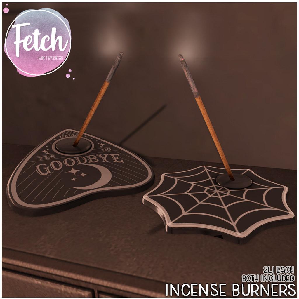 [Fetch] Incense Burners @ Saturday Sale!