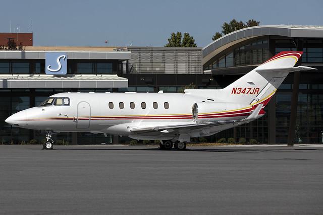 N347JR - Hawker Beechcraft 850XP - Jolly Rancher LLC - KATL - Oct 2020