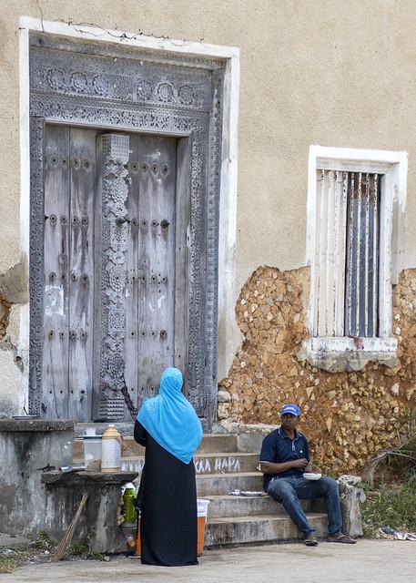 On the street - Zanzibar 2020