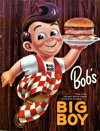 Bob's Big Boy Menu