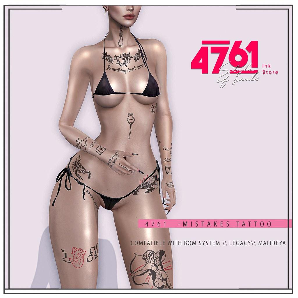 4761 – Mistakes Tattoo