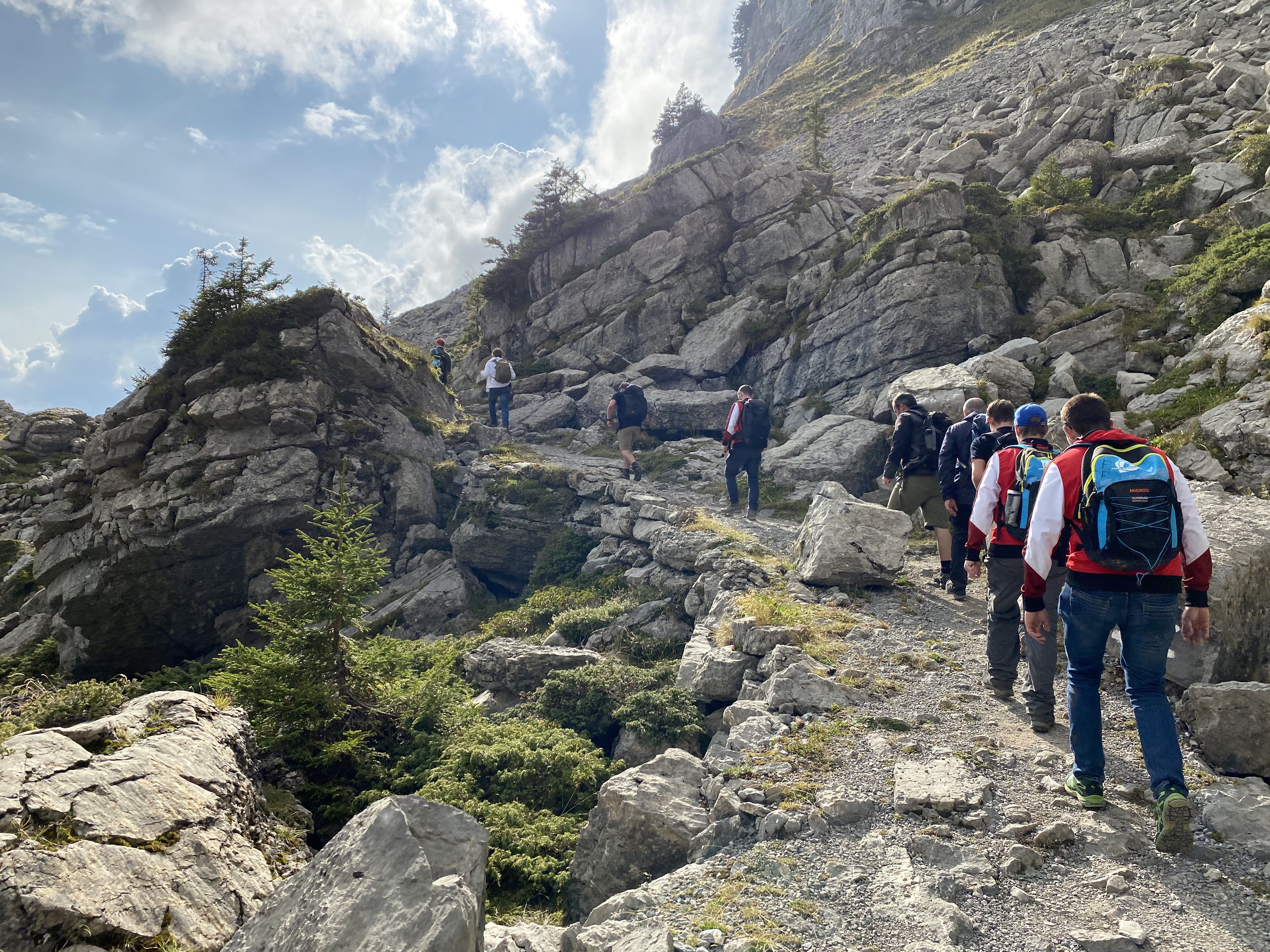 Bergturnfahrt 2020 First - Faulhorn - Schynige Platte