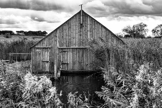 Remote Boathouse Norfolk Broads