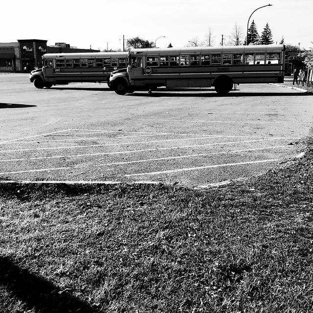 Une pause en attendant la fin de l'école...