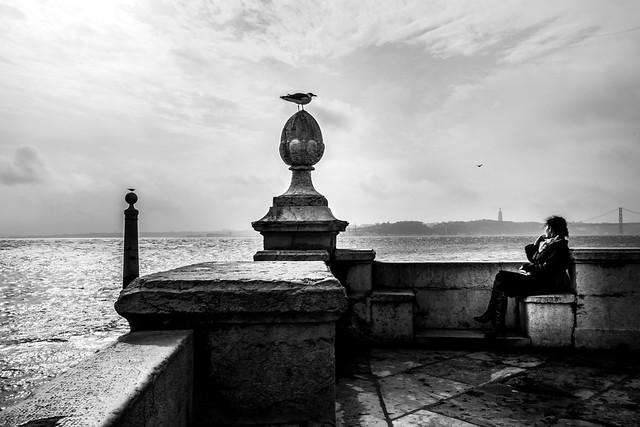 A silent dialogue, Lisbon, Portugal