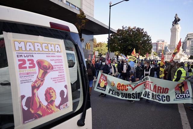 Marcha Nacional dos Trabalhadores da Administração Local
