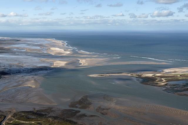 Blakeney Harbour & Holkham National Nature Reserve - North Norfolk aerial image