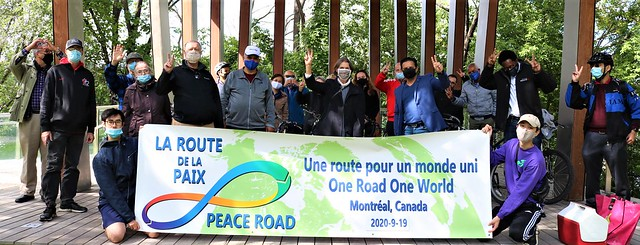 Canada-2020-09-19-UPF-Canada Undertakes Peace Road Rally and Commemorates Day of Peace