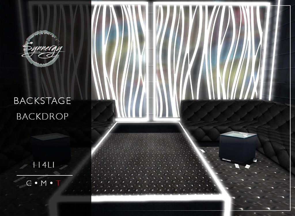 Backstage Backdrop @ Manly Weekend Sale