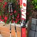 Dětské lyže Atomic raceX 110cm délky a  hůlky  85c