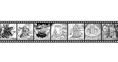 Inktober 2020 - Week 2 Filmstrip