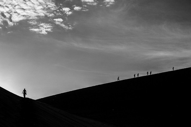 Climbing the Dunes, Ica
