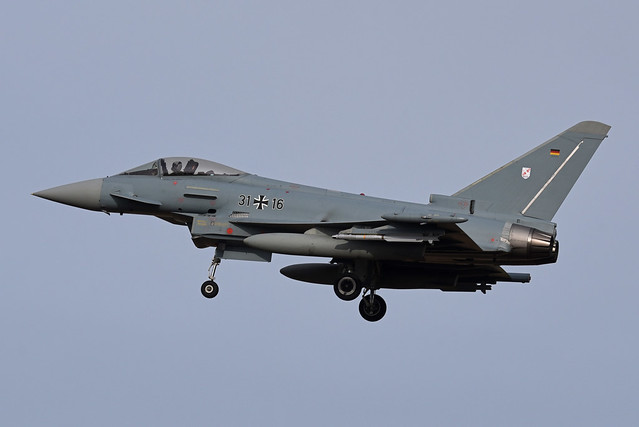 Germany - Air Force Eurofighter EF-2000 Typhoon 31+16