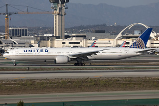 N2331U - Boeing 777-322ER - United - KLAX - Oct 2020