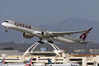 A7-ANL - AIRBUS A350-1041 - QATAR Airways - KLAX - Oct 2020