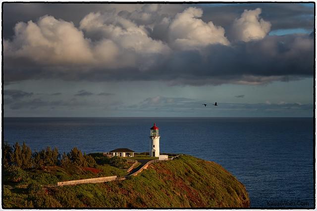 Sunrise, Kilauea Lighthouse, Kauai.