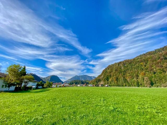 Autumn in Kiefersfelden in Bavaria, Germany