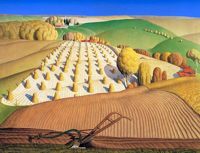 Fall Plowing, 1931