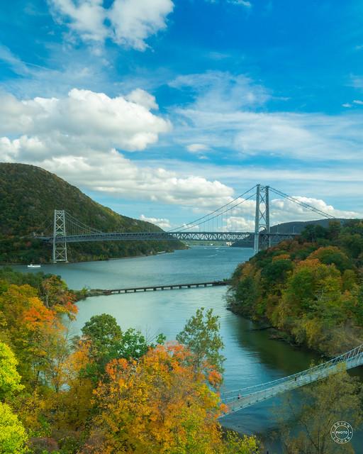 Autumn at Bear Mountain Bridge
