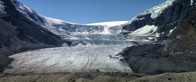 See it before it melts. Athabasca Glacier