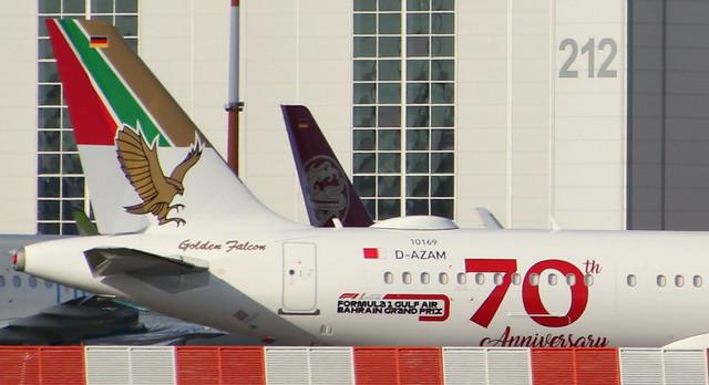 Gulf Air, D-AZAM, Reg.A9C-NB, MSN 10169, Airbus A321-253NX, 22.10.2020, XFW-EDHI, Hamburg Finkenwerder