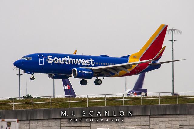 N729SW Southwest Airlines | Boeing 737-7H4(WL) | Memphis International Airport