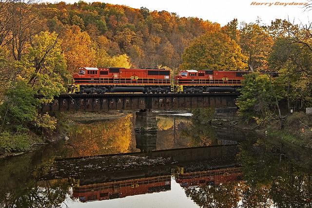 Buffalo & Pittsburgh EMD SD60M 3885