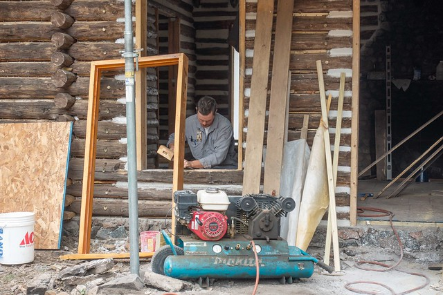 Cabin Restoration @ Fish Camp-09475