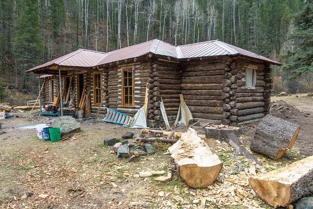 Cabin Restoration @ Fish Camp-09473