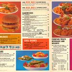 Fri, 2020-10-23 12:58 - Bob's Big Boy Menu 1960s