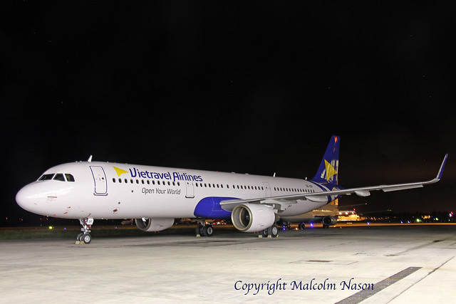 A321-211 OE-IDP VIETRAVEL AIRLINES