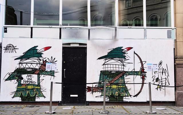 Robin Hood Street Art. Hockley. Oct 2020