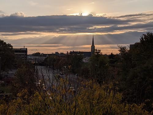 sunrise skyline louisville
