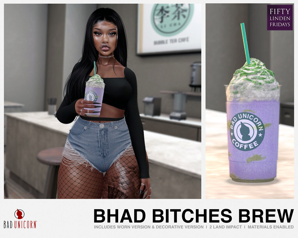 NEW! Bhad Bitches Brew – ONLY 50L
