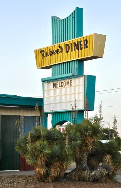 Rubee's Diner - Tucumcari, New Mexico