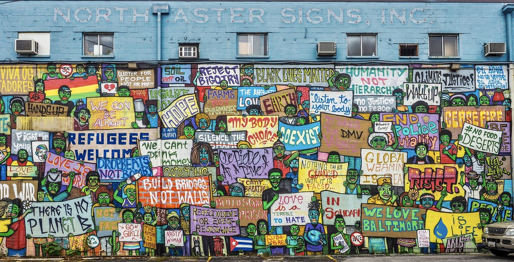 North Aster Signs, Baltimore