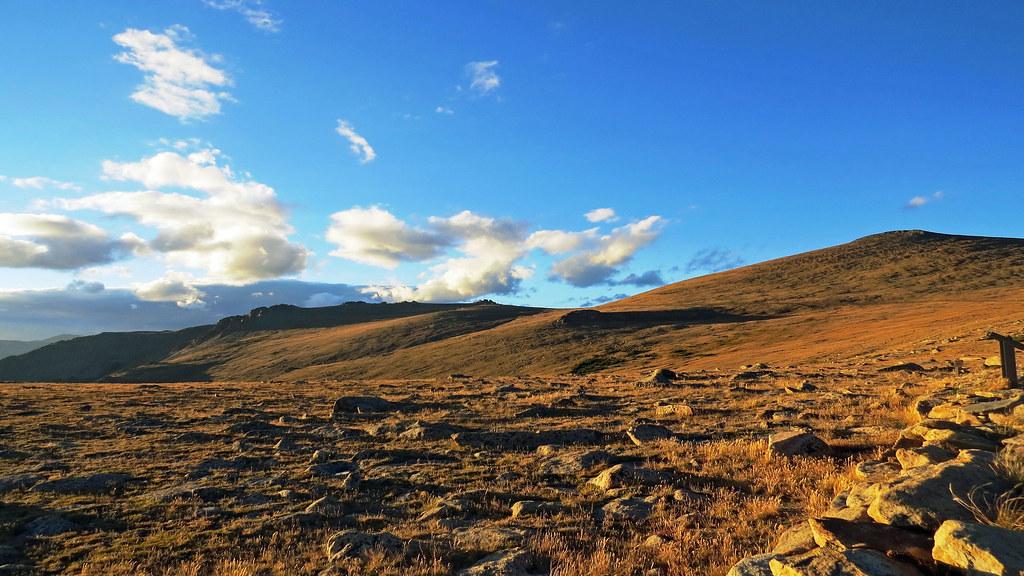 Boulder Field Rocky Mountains