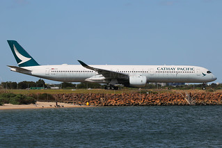 Cathay Pacific Airbus A350-1041B-LXB