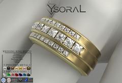 (BENTO MALE)~~ Ysoral ~~ .:Luxe Wedding Ring Evan :.