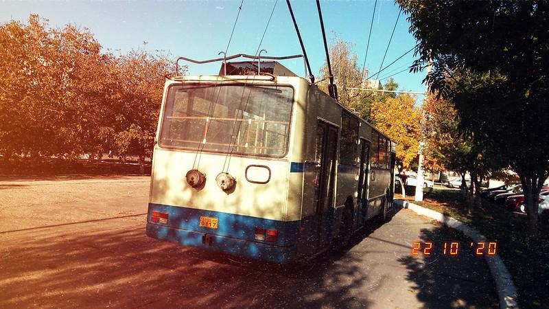 Troleibuz Rocar 212E #117 al Transloc Tg. Jiu
