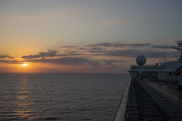 Sunrise on boat 2_3_20