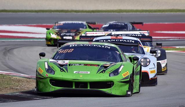 Ferrari 488 GT3 / Manuel Lauck / DEU / Christian Hook / DEU / Steve Parrow / DEU / Rinaldi Racing
