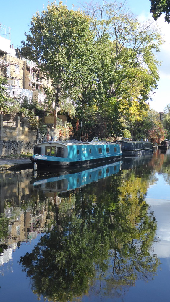 Regent's Canal, Islington, London