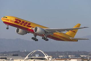 N774CK - Boeing 777-F- DHL (Kalitta) - KLAX - Oct 2020