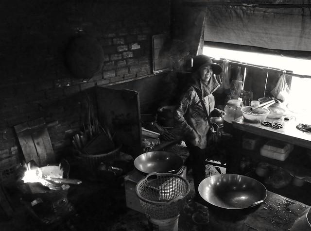 La cuisine, marché de Kèp, Cambodge, août 2020. The kitchen,  Kep market, Cambodia, August 2020.