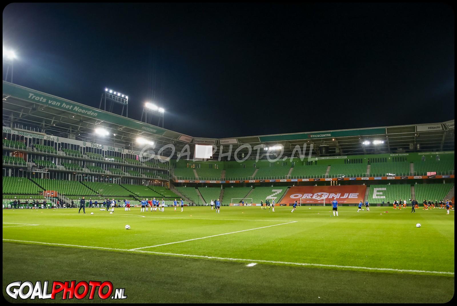 Nederland - Estland 23-10-2020