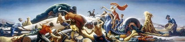 Achelous & Hercules, 1947